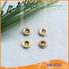 Metal Military bouton Four holes button BM1678
