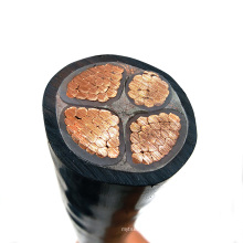 Flexible electric cable power copper rubber insulated 3 core 4mm flexible electric cabl