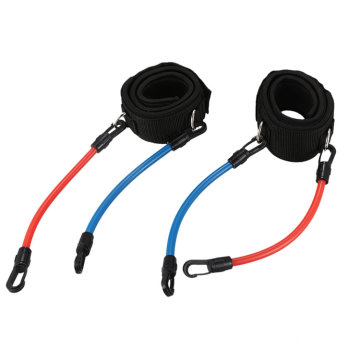 Running Power Endurance Strength  Muscle Leg Training Resistance Loop Bands Fitness Set