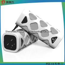 Портативный Bluetooth динамик со встроенным микрофоном (белый)