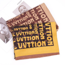 2022 New Fashion Winter Women Luxury Letter Pattern Cashmere Scarf Thick Warm Windproof Pashmina Scarves