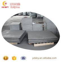 Bom preço redondo / bloco de grafite de carbono personalizado