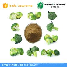 Extracto de brócoli natural puro sulforafano; grado farmacéutico y alimenticio