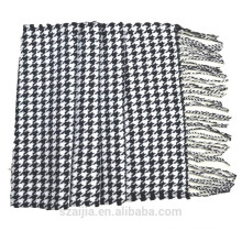 El mantón masculino del pashmina de la tela escocesa comprobó la bufanda del pashmina
