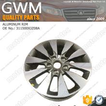 O carro chinês parte a roda de alumínio 3113200XJZ08A das peças sobresselentes da grande muralha