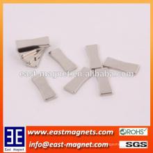 Spezielle geformte Seltene Erde NdFeB Magnet für Verkauf / kundenspezifischer hochgradiger Magnet des Mobiltelefons
