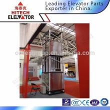 Dumbwaiter ascenseur / porte à charnière / cheveux en acier inoxydable 0.4M / S