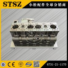 Оригинальные запчасти Komatsu PC200-7 блок цилиндров 6731-21-1170