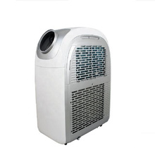 easily move intelligent remote control temperature strong cooling double heat exchanger portable air conditioner