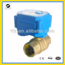 CWX-15Q motorized valve,3-6V,12V,24V,3/4'' full port for water,HVAC,air conditional
