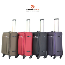 Chubont New 4 Wheels Double Zipper 3PCS Leisure Luggage