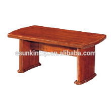 Modest style coffee table wood finishing for office . High quality wood table for sale (T005)