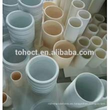 anillo de tubo de tubo de revestimiento de cerámica de alúmina aislante de alta resistencia térmica