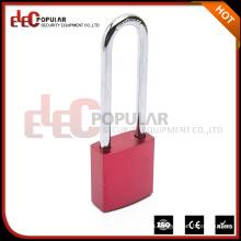 Elecpopular Vendedor Fábrica Coloured Safety Double Keys Aluminum Padlock
