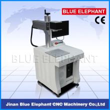 Máquinas portáteis da marcação do laser da fibra de 10W 20W para o marcador do laser da fibra do metal