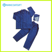 Water-Resistant PVC Polyester Raincoat and Pants