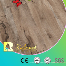 12.3mm E1 Hand Scraped Parquet Vinyl Plank Laminated Laminate Wood Flooring