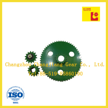 Agricultural Class Combine Painted Conveyor Driving Chain Sprocket