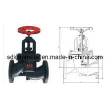 Válvula do globo da flange do ferro de molde (J41T / W / H / F / X-16Q)