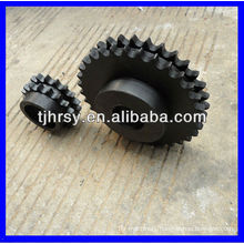 C45 duplex sprocket wheel(black oxide)