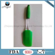 Espátula de silicone de tamanho médio para cozinhar assar e grelhar churrasco Ss07 (M)