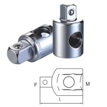 Male and Female Three Way Socket Adaptor