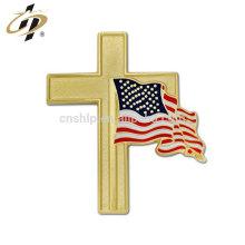 Insigne de drapeau en métal personnalisé