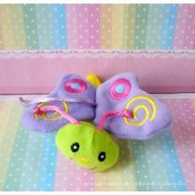 Großhandelskarikaturcharakter weiche angefüllte Plüsch-Schmetterlingsspielzeug