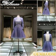Imperio victoriano vestido de calidad de imagen real de alta lujo de vestidos de boda por encargo