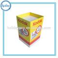 Portable Corrugated Foods Promotion Supermarket Dump Bins