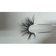 7D103 Hitomi Natural Mink Eyelashes Private Label paper eyelash packaging 3d real mink eyelash
