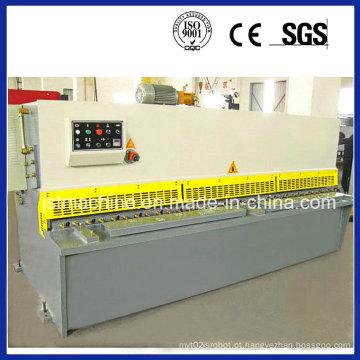 Máquina de corte hidráulica de chapa metálica, guilhotina hidráulica CNC guilhotina máquina (QC12Y-10X2500)