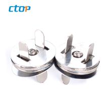 wholesale size 18m zinc alloy fashion magnetic button custom handbag magnet button