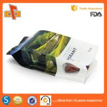 OEM folha de alumínio laminado impressão personalizado gusset lateral sacos de plástico para embalagens de arroz 250g