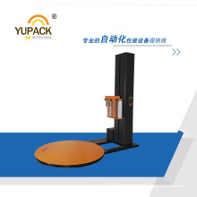 T1650f Máquina de embalaje de película de estiramiento de paleta automática de última condición con PLC