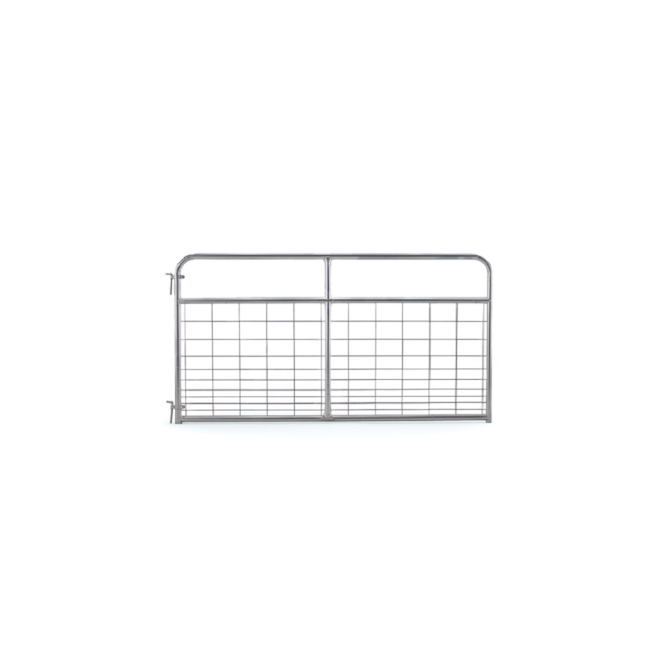Galvanized Steel Wire Filled Farm Gates Untuk Peternakan