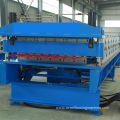 Steel double deck roll former machine