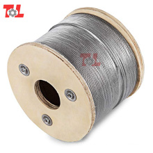 High-Quatity 10mm Stainless Steel Wire Rope 7*19