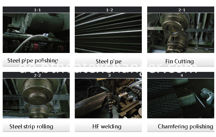 HF SERRATED FIN TUBE PRODUCTION PROCESS
