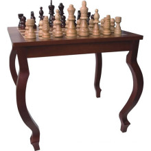 hot selling wooden outdoor chess table