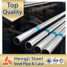 Hot dip Galvanized ERW steel pipes GI steel pipes