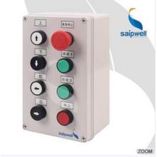 Nouveau boîtier électrique en plastique pour le contrôle du bouton-poussoir IP66