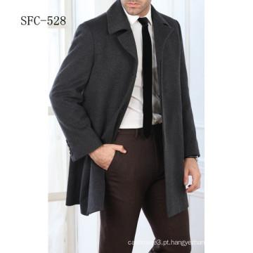 Revestimento de lã de 100% homens de estilo europeu