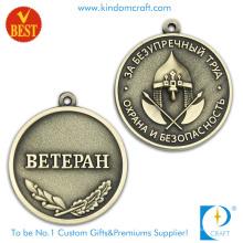 Bronze de alta qualidade que carimba a medalha de Betepah de bronze antiga para o presente da lembrança