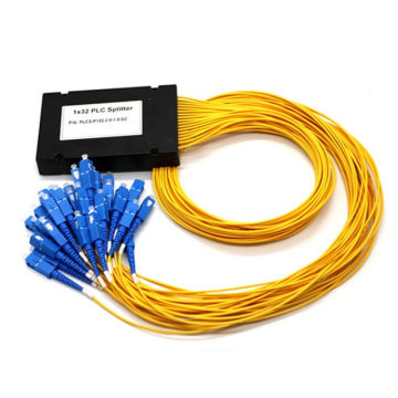 1x32 PLC ABS Box Fiber Splitter
