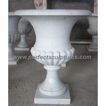 Maceta de mármol de piedra para jardín ornamento (QFP076)