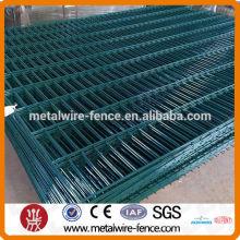 Panel de malla 2D para valla de construcción