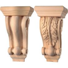 Corbatas de madera tallada a mano