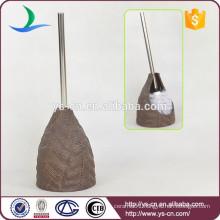 OEM china brown toilet brush holder product