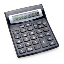 Dual Power Office Desktop Calculator with Big Button